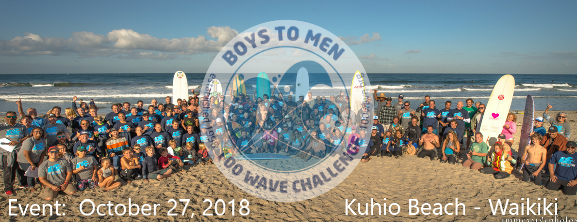 The 100 Wave Challenge Hawaii 2018
